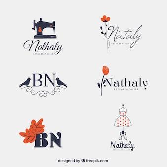 Kolekcja ładnych logo