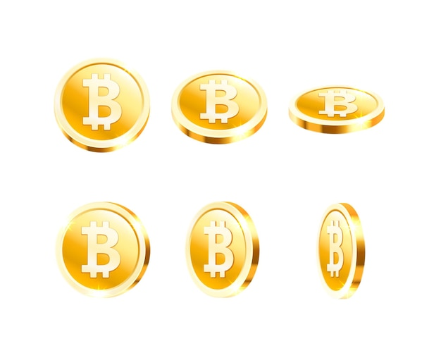 Kolekcja latających monet dolara