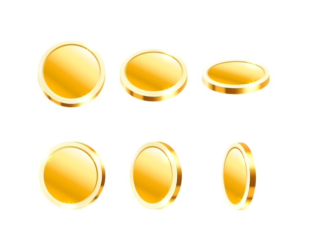 Kolekcja latających monet
