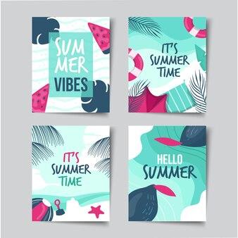 Kolekcja letnich kart