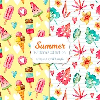 Kolekcja letnich wzorów