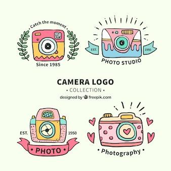 Kolekcja logo aparatu fotograficznego
