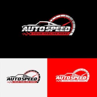 Kolekcja logo autospeed
