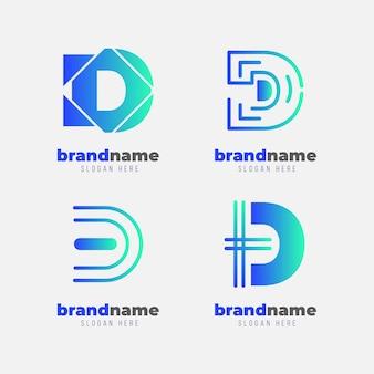 Kolekcja logo d.