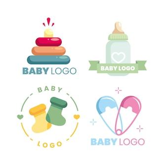 Kolekcja logo dziecka