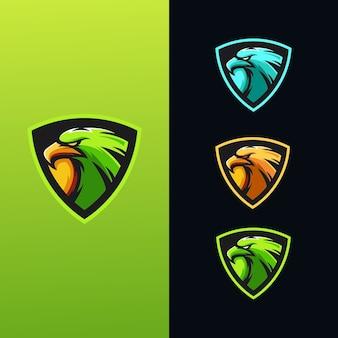 Kolekcja logo eagle