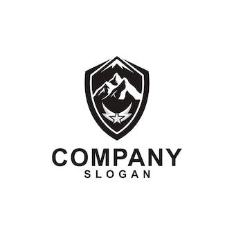 Kolekcja logo górskich