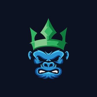 Kolekcja logo goryla