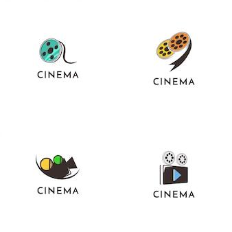 Kolekcja logo kina