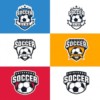 Kolekcja logo klubu piłkarskiego