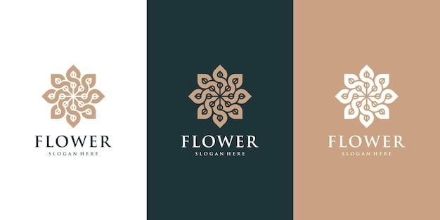 Kolekcja logo kosmetyków naturalnych