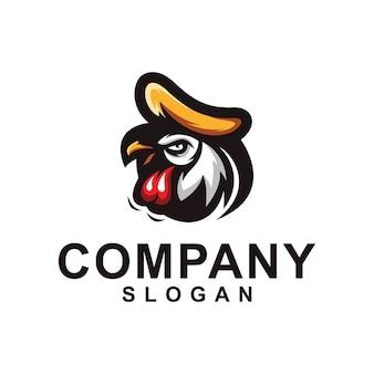 Kolekcja logo kurczaka