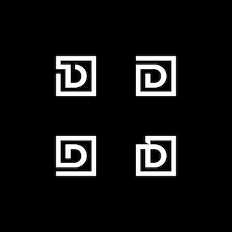 Kolekcja logo listowego