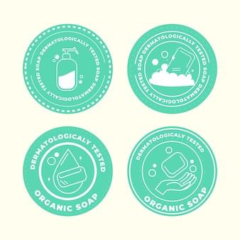 Kolekcja logo mydła