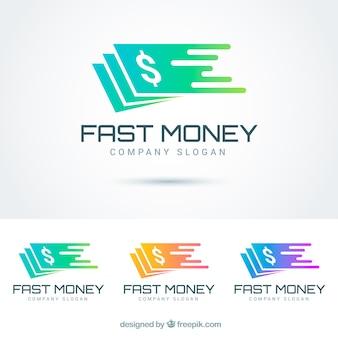 Kolekcja logo pieniędzy dla firm