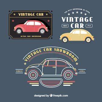 Kolekcja logo rocznika samochodu