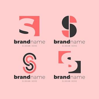Kolekcja logo s.