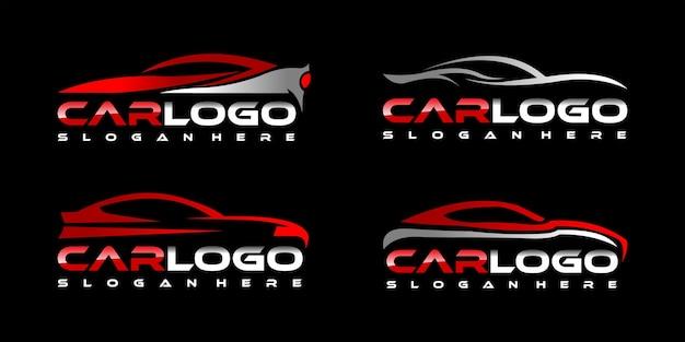 Kolekcja logo samochodu