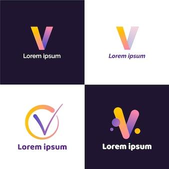 Kolekcja logo v.