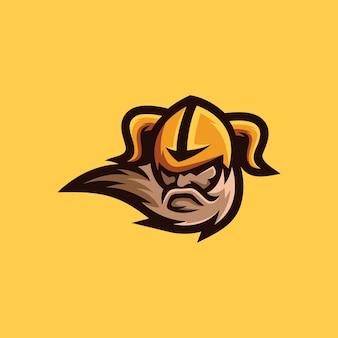 Kolekcja logo wikingów