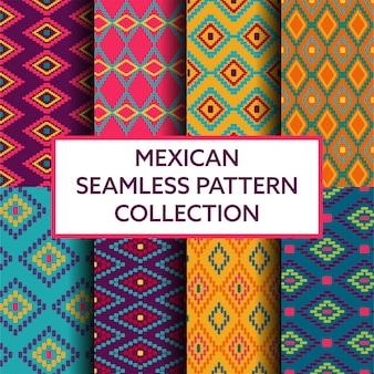 Kolekcja meksykańska wzór