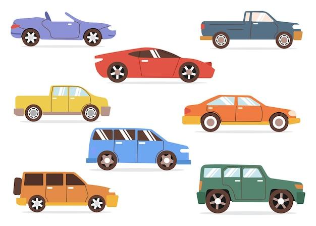 Kolekcja modeli samochodów
