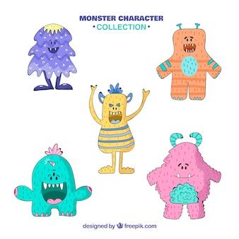 Kolekcja monster pięciu