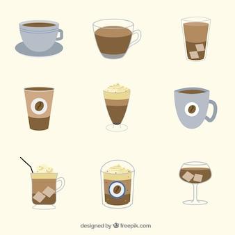 Kolekcja napoje kawowe