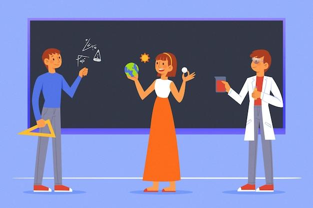 Kolekcja nauczycieli