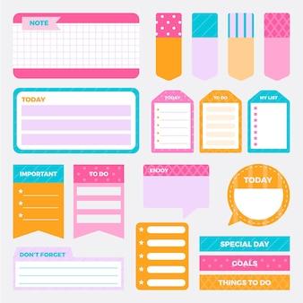 Kolekcja notatników creative planner