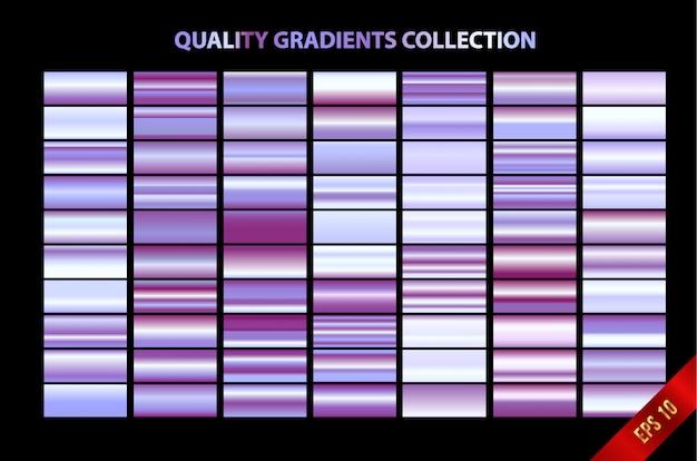 Kolekcja nowoczesnych gradientów jakości