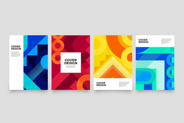 Kolekcja obejmuje abstrakcyjne kształty gradientu
