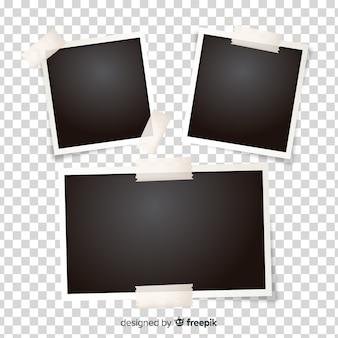 Kolekcja obrazów polaroid