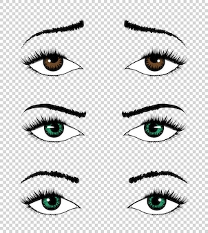 Kolekcja oczu.