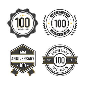 Kolekcja odznak 100-lecia