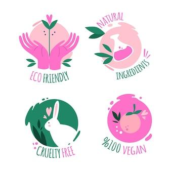 Kolekcja odznak cruelty free