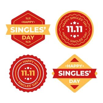 Kolekcja odznak dla singli
