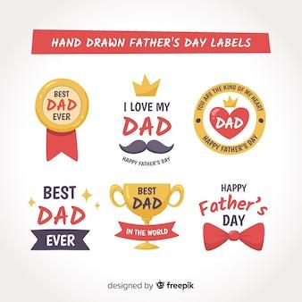 Kolekcja odznak ojca