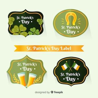 Kolekcja odznak patrick's day