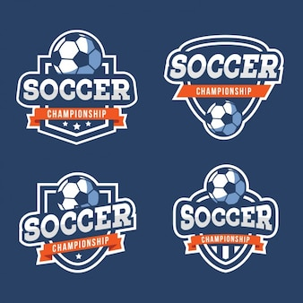 Kolekcja odznak piłkarskie