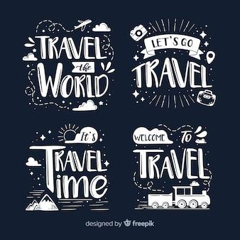 Kolekcja odznak podróżnych