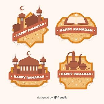 Kolekcja odznak ramadanu