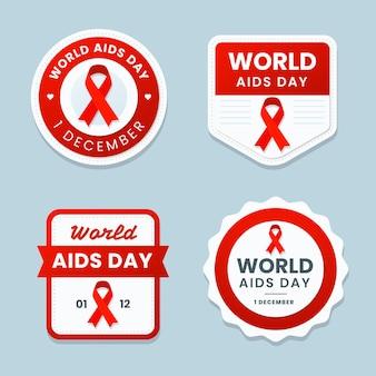 Kolekcja odznak światowego dnia pomocy