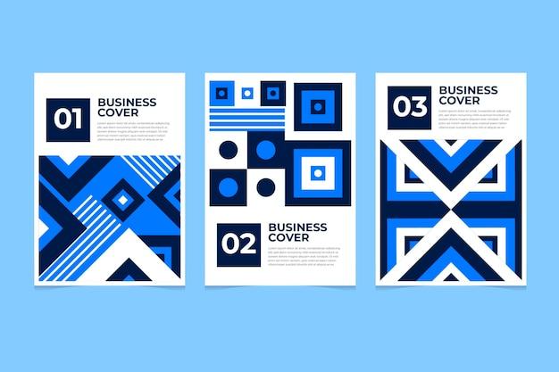 Kolekcja okładek biznesowych