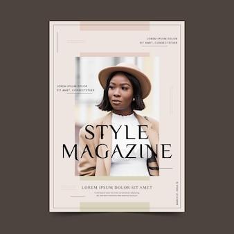 Kolekcja okładek magazynu