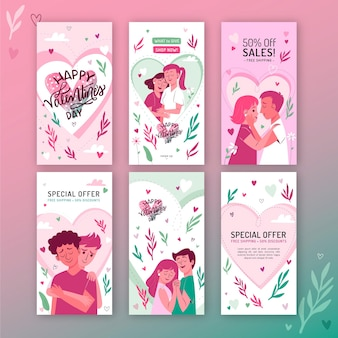 Kolekcja opowiadań instagram sprzedaż walentynki