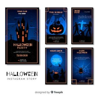 Kolekcja opowiadań na halloween instagram