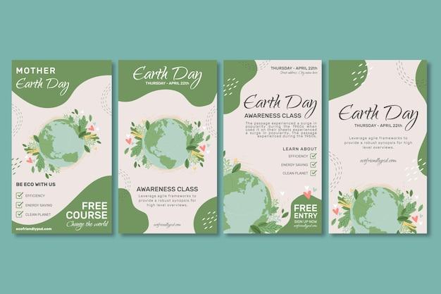 Kolekcja opowiadań na instagramie dzień matki ziemi