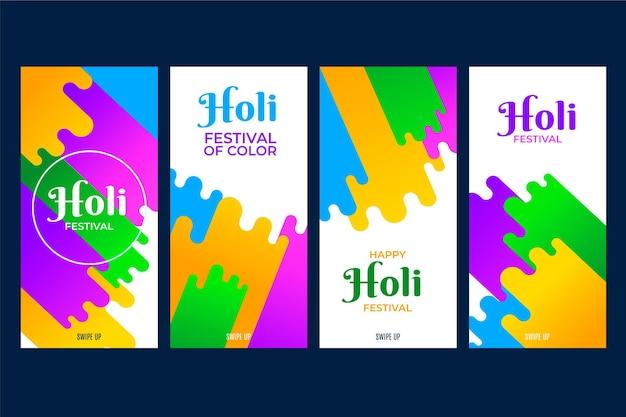Kolekcja opowiadań na instagramie festiwalu holi
