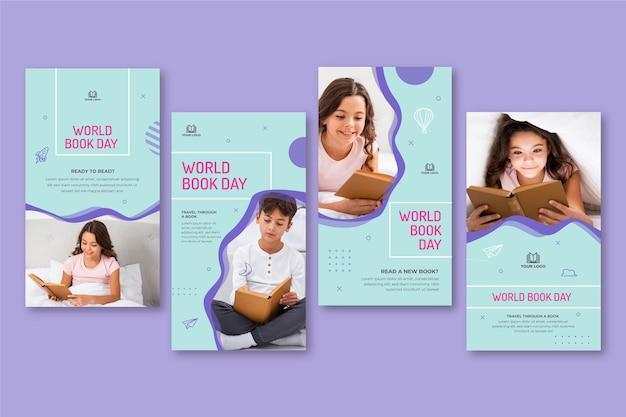 Kolekcja opowiadań na instagramie na obchody światowego dnia książki